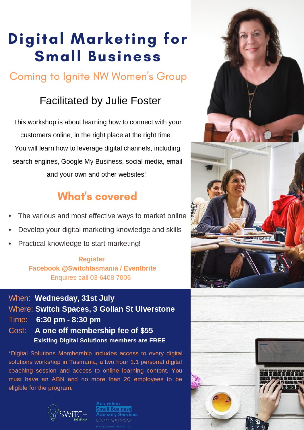 Digital Marketing for Small Business I Ignite NW Women
